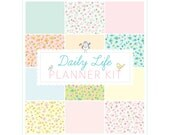 HALF-LETTER Daily Life Planning Inserts-Digital File Instant Download-to do lists, baby schedules, health, cleaning, planning scripture