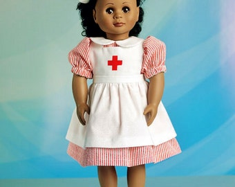 Nurse doll pattern Etsy