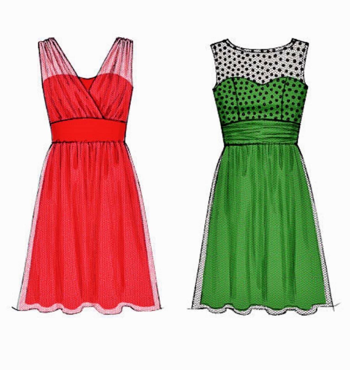 Prom Dress Pattern Evening Gown Create It Dress Sz 8 To 16