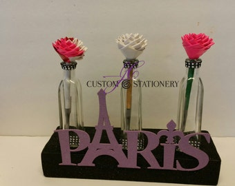 Paris Themed  Centerpiece