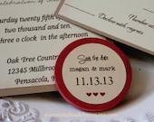 50 Wedding Favor Wood Magnets- FOR Kristy