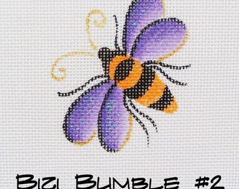 Bizi Small Needlepoint Bee - Halloween Bee - Jody Designs - Bizi 2