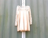 upcycled Dress / romantic Upcycled / Patchwork Dress / Funky Tunic Dress / Eco Dress / Artsy Dress by CreoleSha