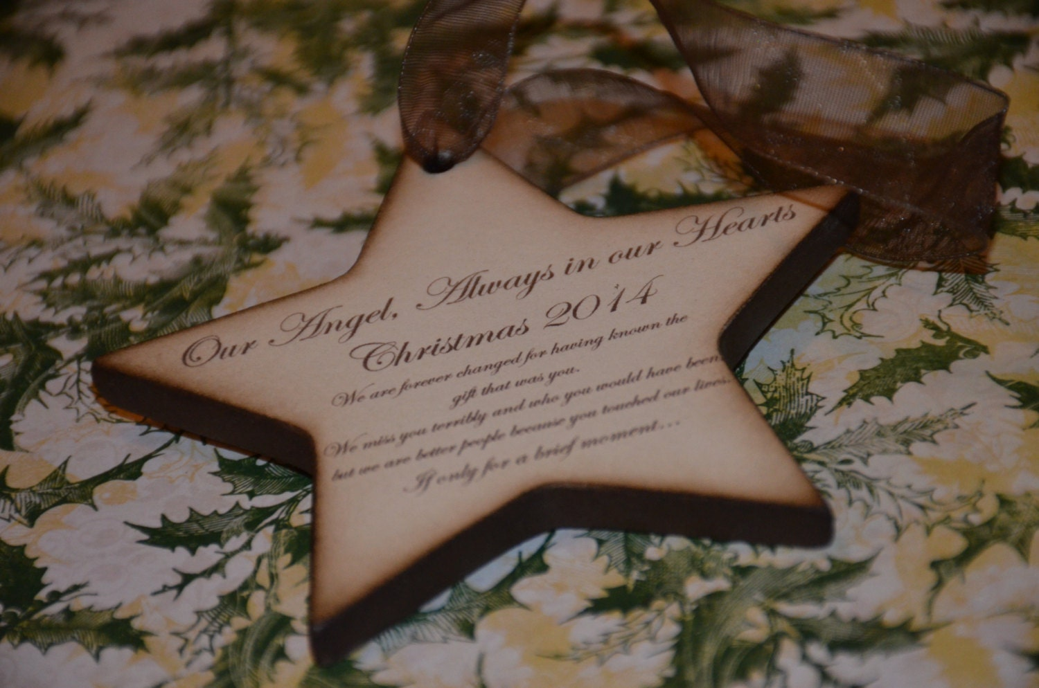 Baby loss ornaments -  Miscarriage Ornament Baby Loss Zoom