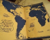 Vintage Grand Tour TRAVEL Cunard Cook Line Around the World in the Franconia 1929 Many Pictures