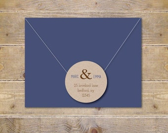 Wedding Address Labels, Bridal Shower Address Labels, Save The Date Address Labels, Return Address Labels, Labels For Wedding Invitations