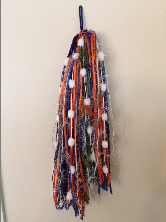 Turbo's Fairy Wigs - Orange & Blue FSU? (TYDF-022)  Made to Order