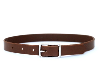 Leather Toddler and Baby Boy's Belt - Brown Casual Belt