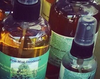 Pine Mist Deodorant or Body Spray 8 oz.