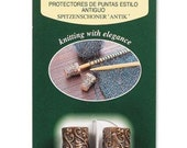 Clover Antique Point Protectors Knitting Part No. 3115 DISCONTINUED