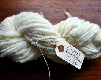 Handspun Parsley Merino Yarn