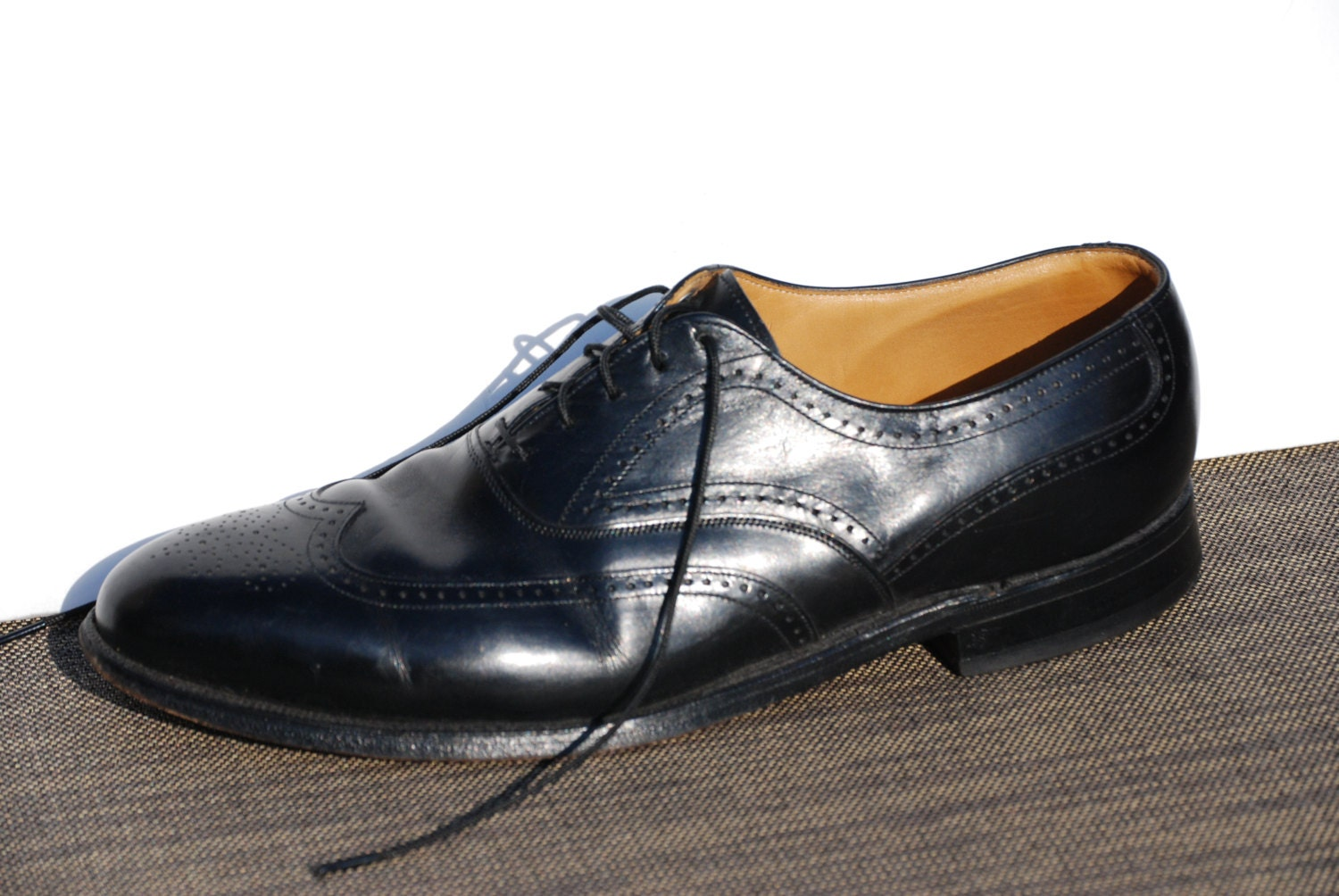 jhnston murphy mens shoes 8d wingtips dress shoes johnston