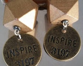 Inspire sunshine earrings?inspirational earrings  from the {Thought-full } collection