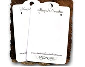 Earring Card Display 0156 Jewelry Cards Personalized Custom Tags Necklace Cards Product Display
