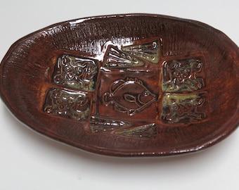 Fish Stoneware Serving Dish