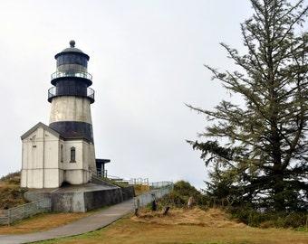 Fine Art Print of Cape Disappointment Lighthouse, Washington (IDWAC2018)