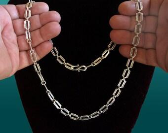 Silver CHAIN - handmade.03