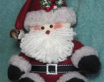 """Santa pattern:  """"Tuckered Santa"""" - #650"""