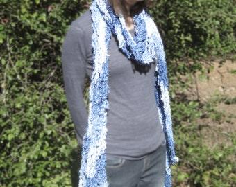 Snowflake Fishnet scarf