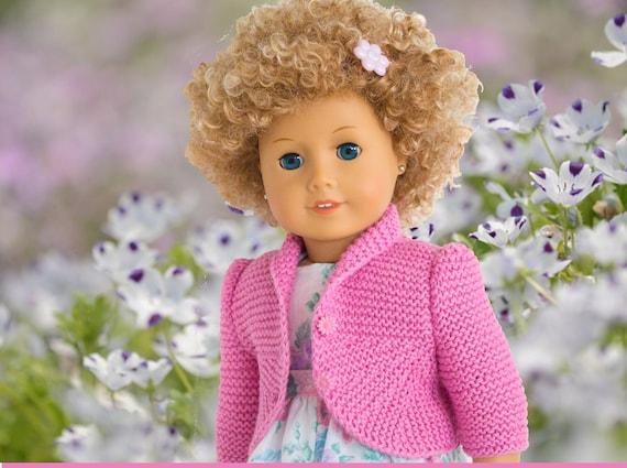 American Girl Doll Cardigan Knitting Pattern : Knitting Pattern For American Girl Dolls Summer by LelleModa