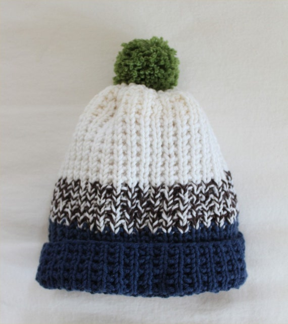 Adult Knit Hat Pattern : Hat KNITTING PATTERN Bens Hat child adult by theknittingniche