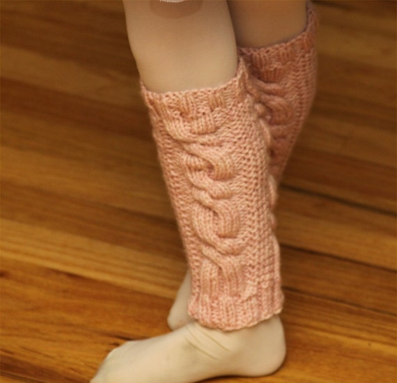 Knitting Leg Warmers Pattern : KNITTING PATTERN- Toddler Dance Leg Warmers pdf knitting pattern