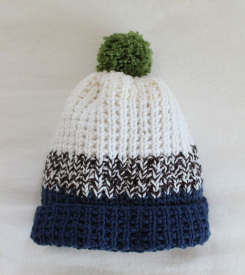 Knitting Pattern For T Bag Hat : Hat KNITTING PATTERN Bens Hat child adult by theknittingniche