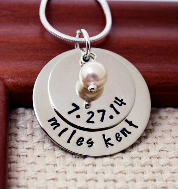 Personalized Mommy Necklace, Mother's Necklace, New Baby Necklace, Mom Necklace, Personalized Jewelry, Mom Mommy, Kid name