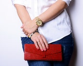 Envelope clutch made entirely of LEGO bricks FREE SHIPPING new purse model