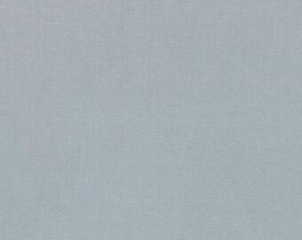 Bella Solids Silver - 9900 183 (Moda) 1/2 yard  Quilting Cotton Fabric