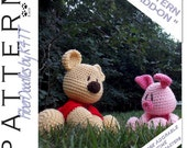 INSTANT DOWNLOAD : Babys First Plushie - Storybook Tribute  (Add-On) Crochet Pattern