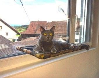 Camo - Curious Cats Window Perch