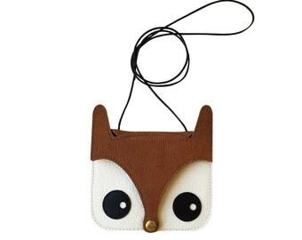 Mini Fox Bag, Original Design / foxy bag / leather bag / animal bag / kids bag / childrens bag