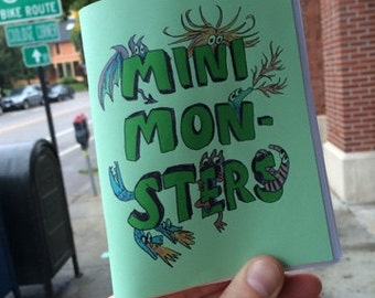 Mini Monsters minicomic zine