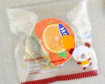 30 Sweet Balloon Bear Self Sealing Cellophane Bags (3.5 x 3.9in)