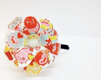 Little Monsters Daisy Paper Mache Headband