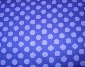 Violet Ta Dots Fabric  by Michael Miller  - 1 Yard