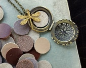 Leather Inserts for Diffuser Lockets, Listing is for 3 pieces