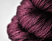 Burgundy ice rose - Silk Lace Yarn