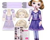Princess Doll Sewing Patt...