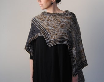 DIAEMUS shawl knitting pattern PDF