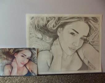 Pencil Sketches. Email your photo.