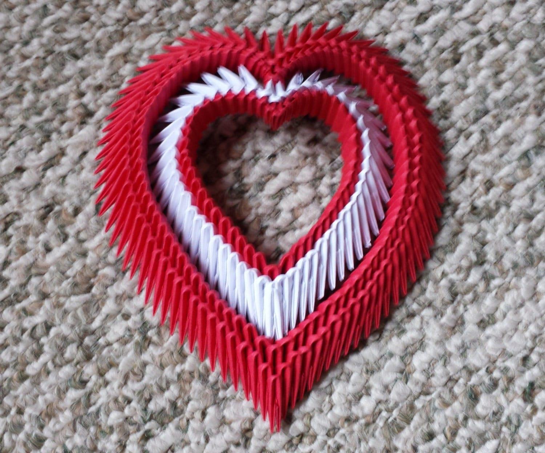 3d Origami heart - photo#49
