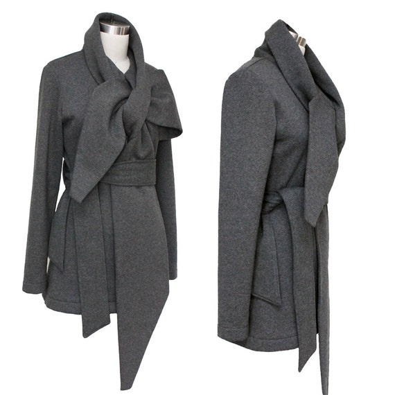 SALE Statement Tie Wrap Sweater Scarf Jacket High Quality