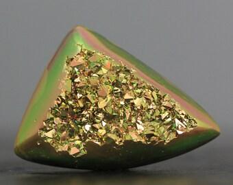 CLEARANCE - Titanium Coated Druzy Agate (9386)