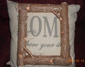 Maine Rustic Cedar Picture Frame Handmade for You!
