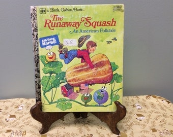 Fun Little Golden Book - Runaway Squash