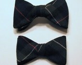 Reserved for Kim - Boy's Bow tie & Girl's Barrette in Leslie Tartan