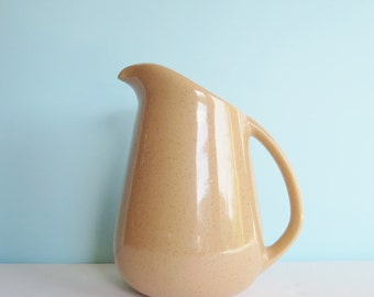 Vintage Brusche California Pottery Pitcher - Mid Century Speckled Pitcher