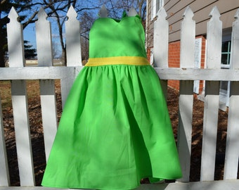 Girls Tinkerbell Inspired Dress-up Apron